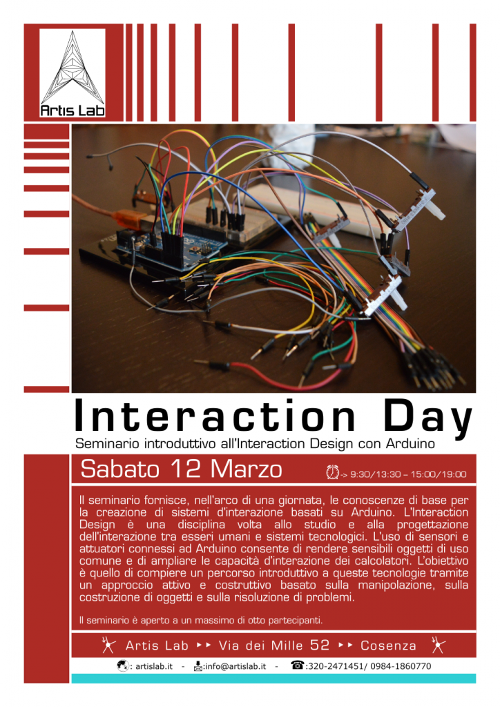 Interaction design arduino