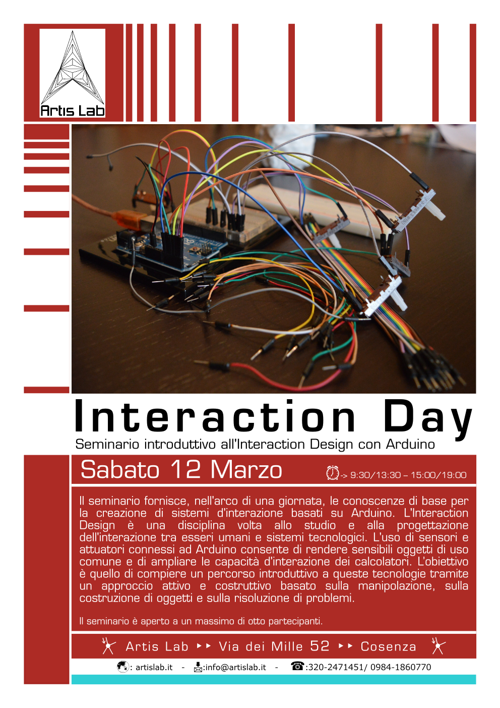 Interaction design con Arduino: Interaction Day
