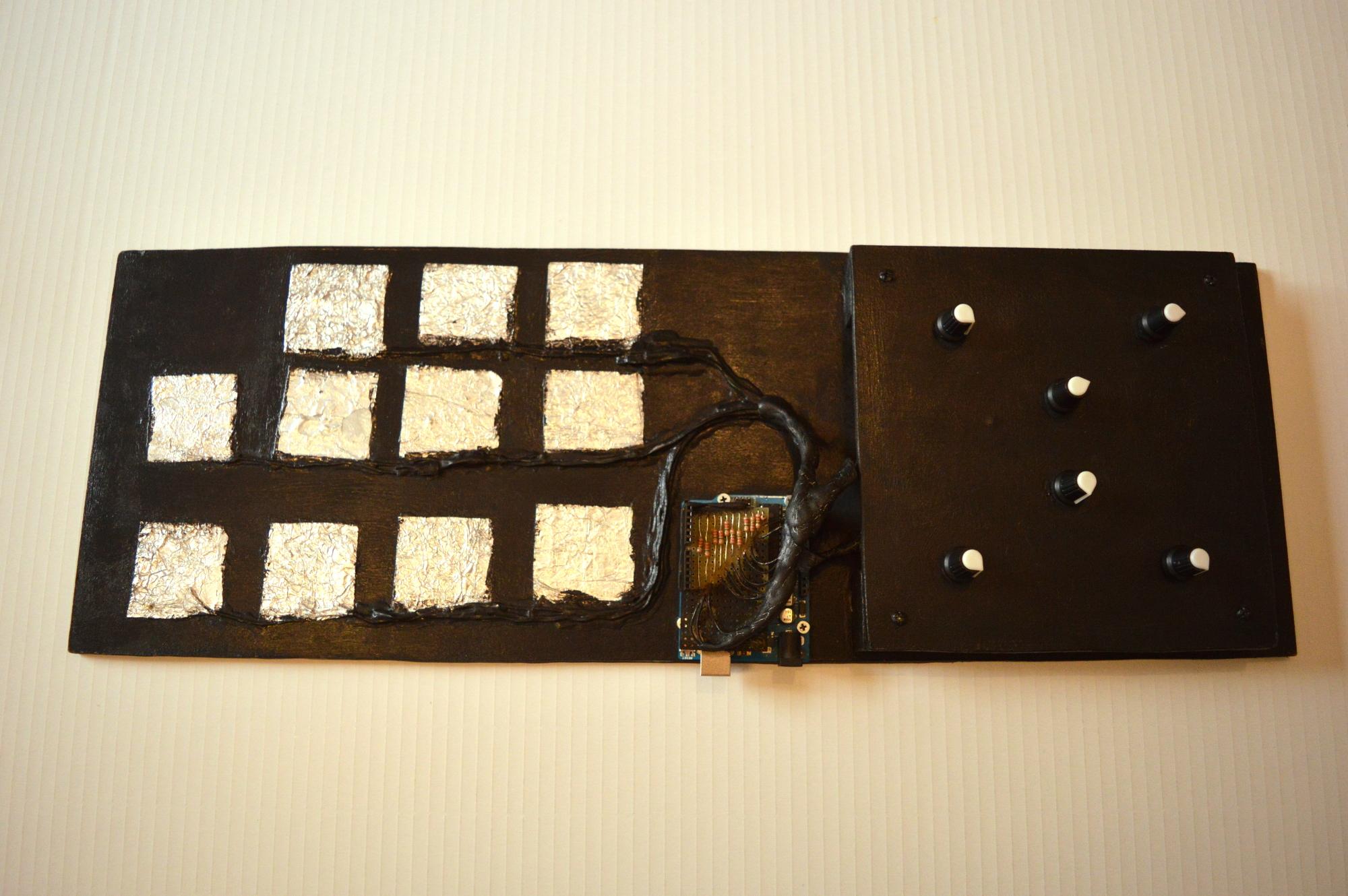 Arduino capacitive sensor: Cap-Pad