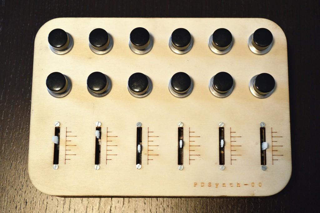 PDSynth-00-Arduino controller