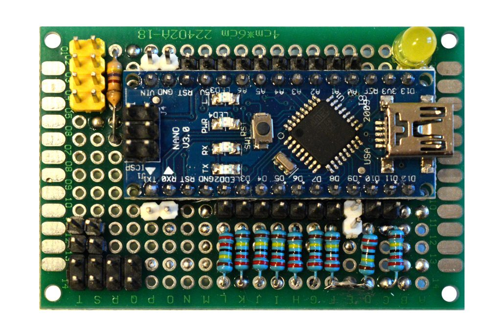 CapBoard a board to manage capacitive sensors