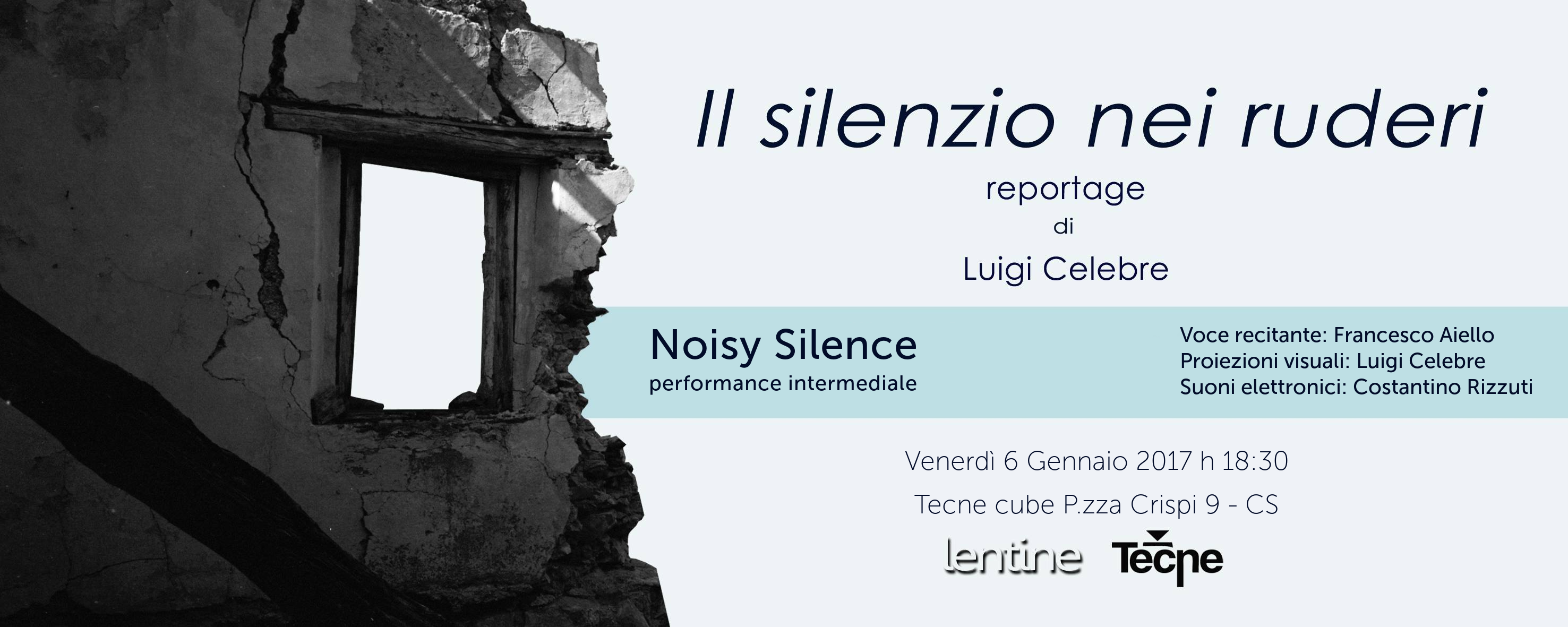 Noisy Silence: a performance of silence, sound and noise
