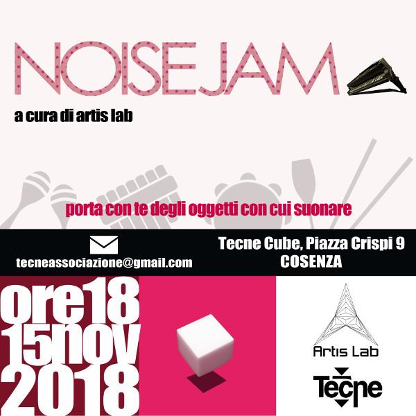 Noise Jam al Tecne cube